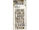 THS089 Stampers Anonymous Tim Holtz Layering Stencil - Crate